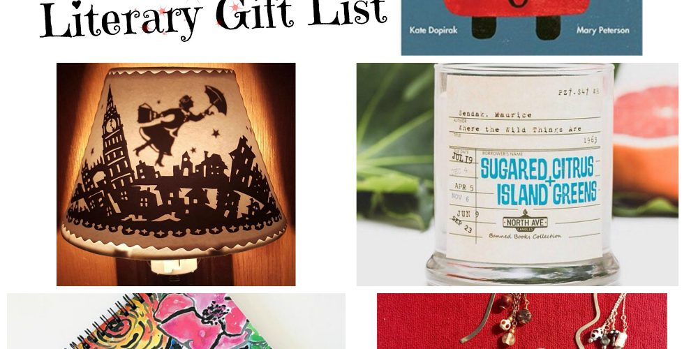 5 Creative Literary Gifts (made by people I know): 2017 Holiday Edition